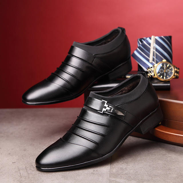 Giày da tăng chiều cao cho nam