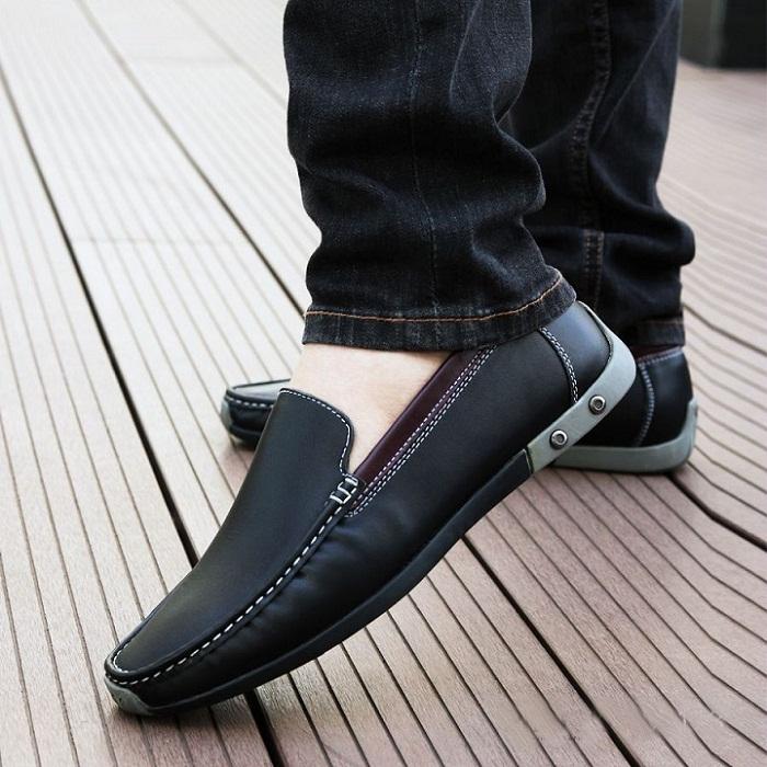 Giày lười da bò đẹp