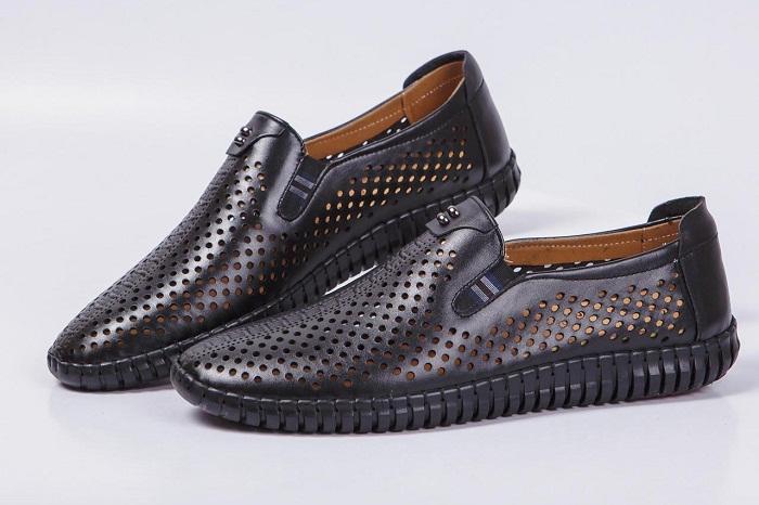 Giày mọi da nam