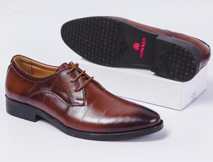 Giày da buộc dây nam