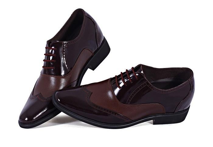 Giày tăng chiều cao da bò cao cấp TC03 -1