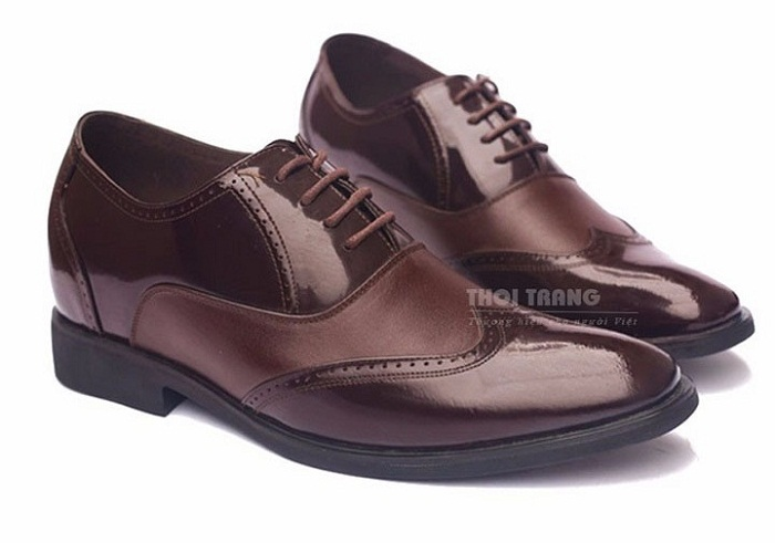 Giày tăng chiều cao da bò cao cấp TC03 -11
