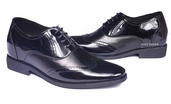 Giày tăng chiều cao da bò cao cấp TC03 -13