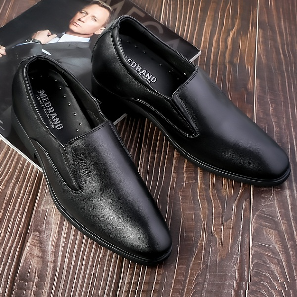 Giày da bò nam tăng chiều cao