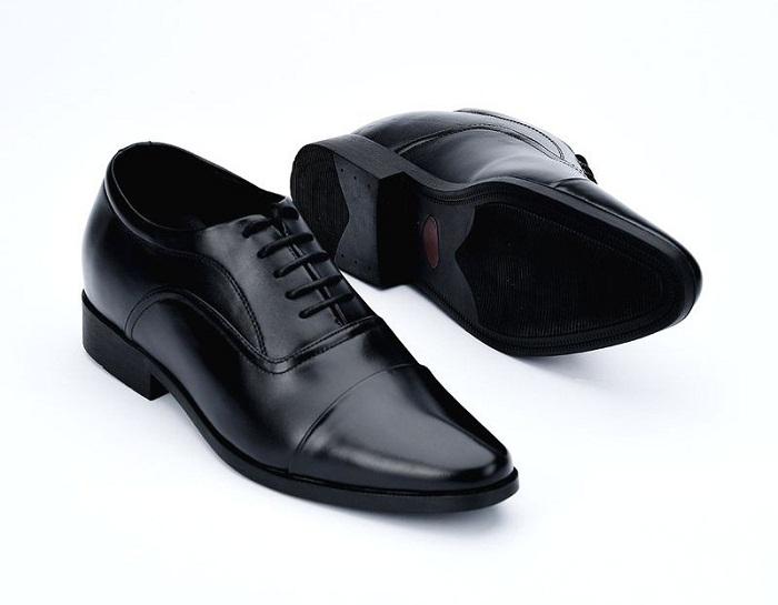 Giày tăng chiều cao da bò thật TC14