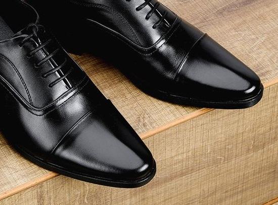 Giày tăng chiều cao da bò thật TC14 -5