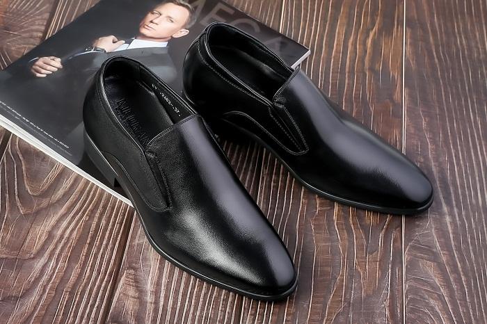 Giày Tăng Chiều Cao Nam Da Bò TC15
