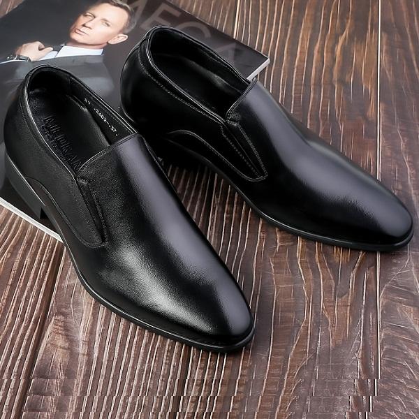 Giày tăng chiều cao da bò cao cấp tc15