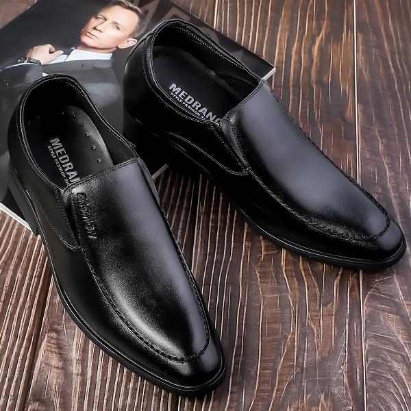 Giày Tăng Chiều Cao Nam Da Bò Thật TC45